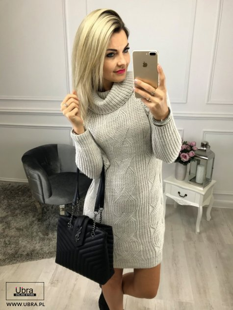 SWETER BETI BEŻOWY