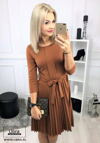 SUKIENKA OLIVIA KARMELOWA