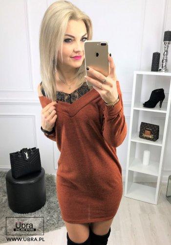 SUKIENKA BLANCA KARMELOWA