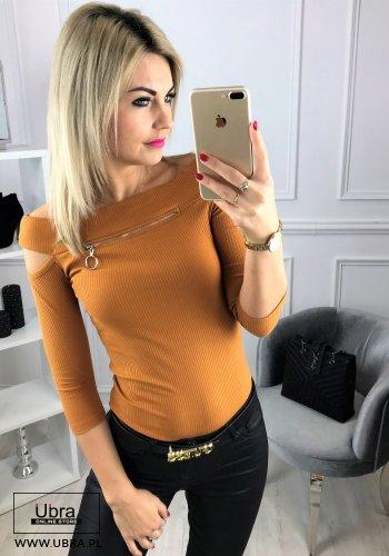 BLUZKA MARINA KARMELOWA