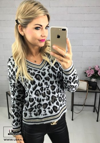 SWETER CHICCO SZARY