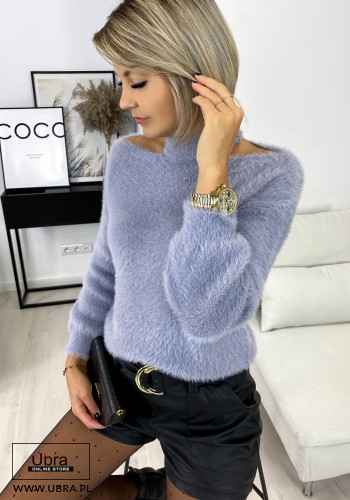 SWETER MOLLY SZARY